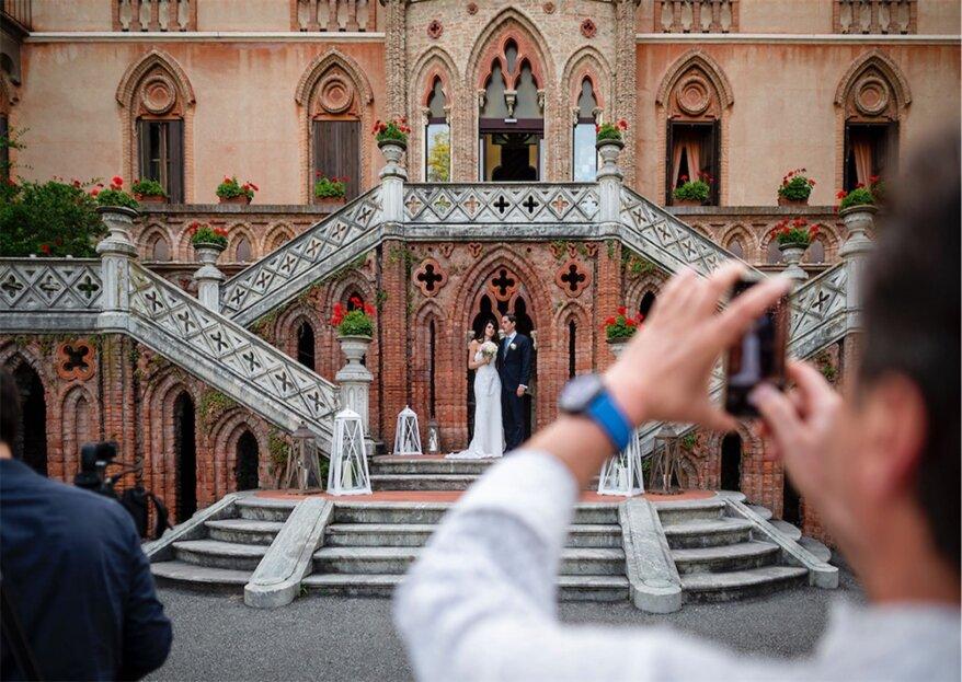 L'incontro in un remoto angolo di mondo di Carlotta e Juan, consacrato con l'aiuto del wedding planner Tabusso!