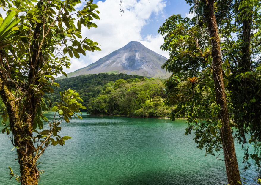 Luna de miel en Costa Rica: un destino soñado de playa, selva y volcanes