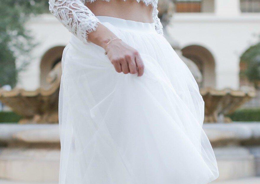 Brautkleider aus Tüll – wir zeigen Ihnen den luftig-leichten Trendstoff für Hochzeiten