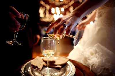 Conoce las bebidas y cócteles para ofrecer en tu boda