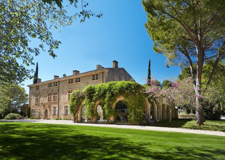 Château de Sannes : un lieu exceptionnel pour la réception de votre grand jour en Provence