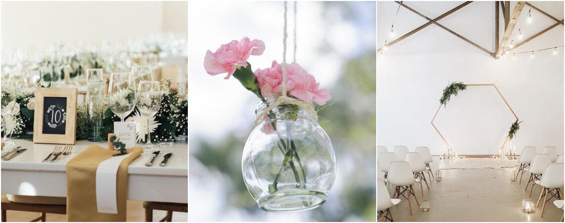 5 éléments indispensables pour un mariage minimaliste