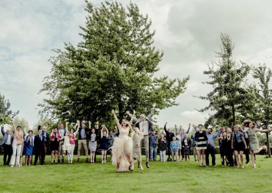 Tips voor de leukste groepsfoto´s op jullie bruiloft!