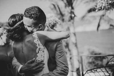 Un amor de la infancia: la boda de Virginia y Juan Antonio