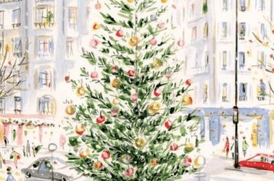 Christmas con mucho estilo para felicitar la Navidad en pareja