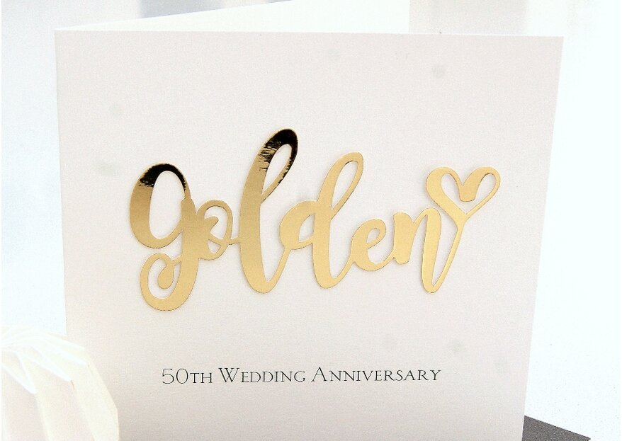50 anni di matrimonio: 20 frasi d'auguri e tantissime idee regalo