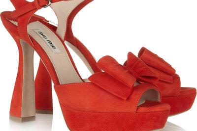 Zapatos de fiesta rojos para la primavera-verano 2013
