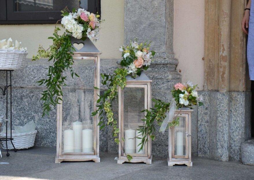 Lathyrus Laboratorio Floreale: i fiori sono protagonisti delle vostre nozze...