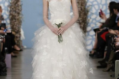 Robes de mariée romantiques 2014 : la collection Oscar de la Renta