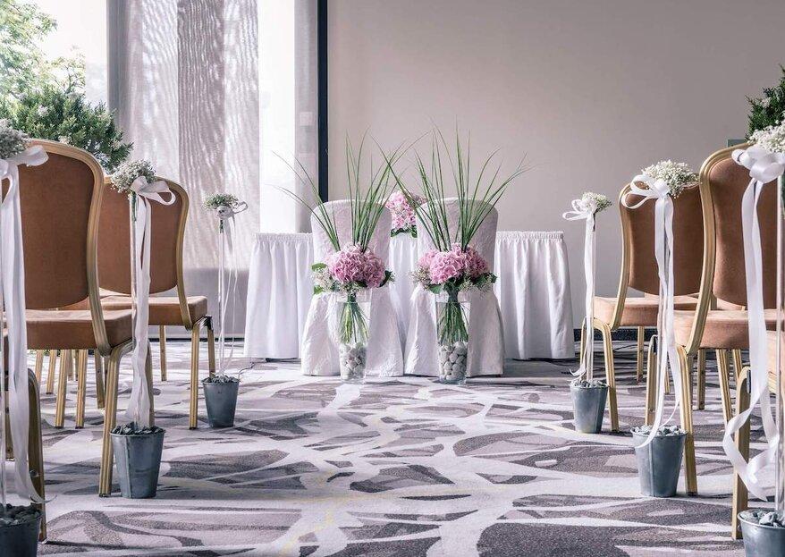 Zürich Marriott Hotel – Heiraten im kleinen Kreis 2021