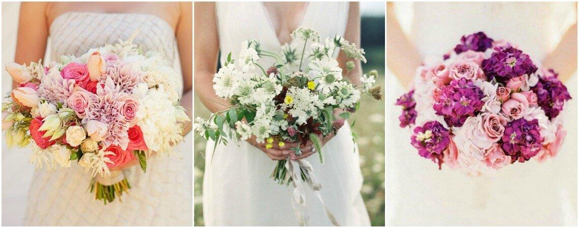 Los ramos de novia de la temporada. ¡Llegó la hora de imponer color con los estilos más hermosos!