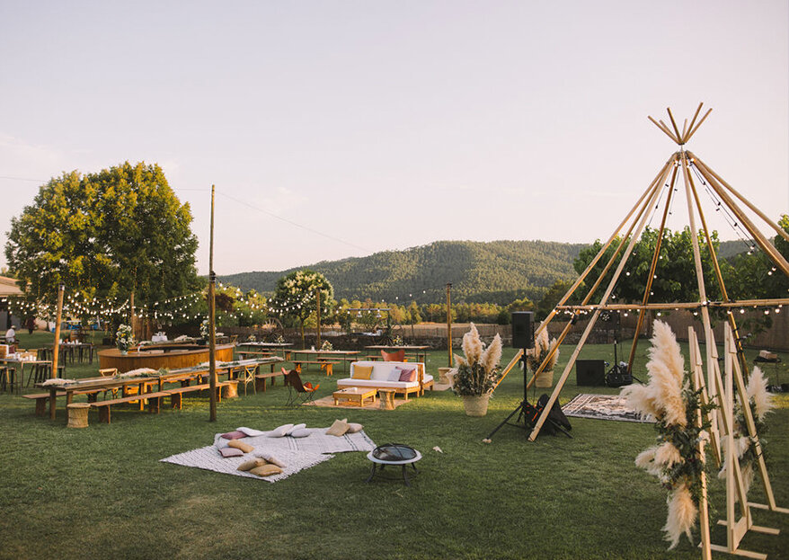 La boda y la fiesta de vuestra vida en Masía Cal Riera