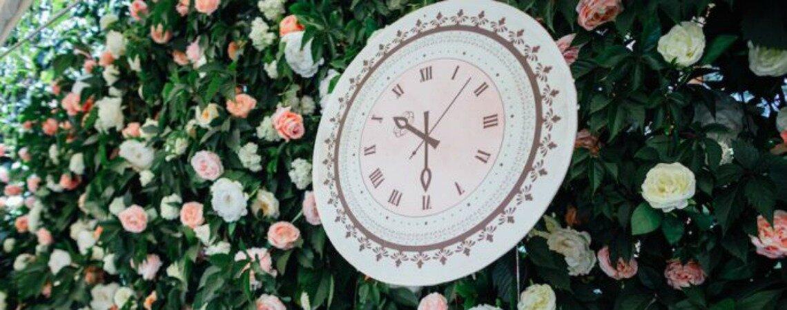 Тайминг свадьбы : как все успеть