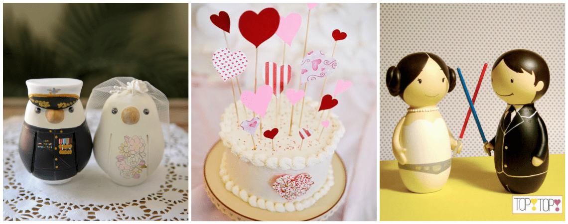 Die schönsten Cake Topper für Ihre Hochzeitstorte 2018