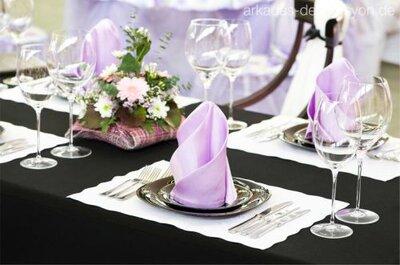 Hochzeitsdekoration in Berlin - Hier werden Sie fündig