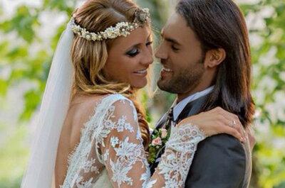 ¿Ya viste los vestidos y trajes de los famosos que se casaron el año pasado?