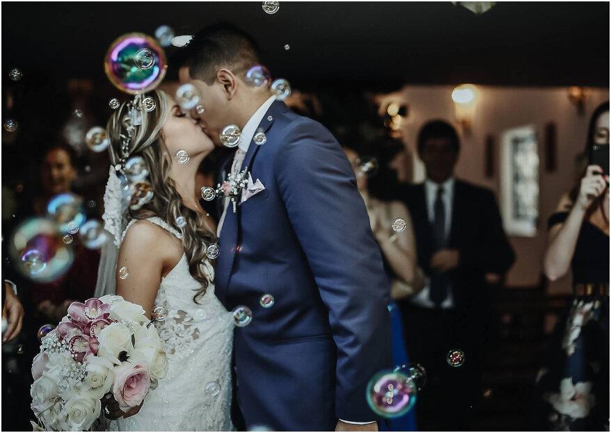 Marcela y Daniel: ¡una boda inolvidable que desbordó romanticismo y felicidad!