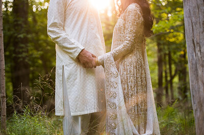 Color me Bright: Shereen + Saad's Pakistani Wedding in New York