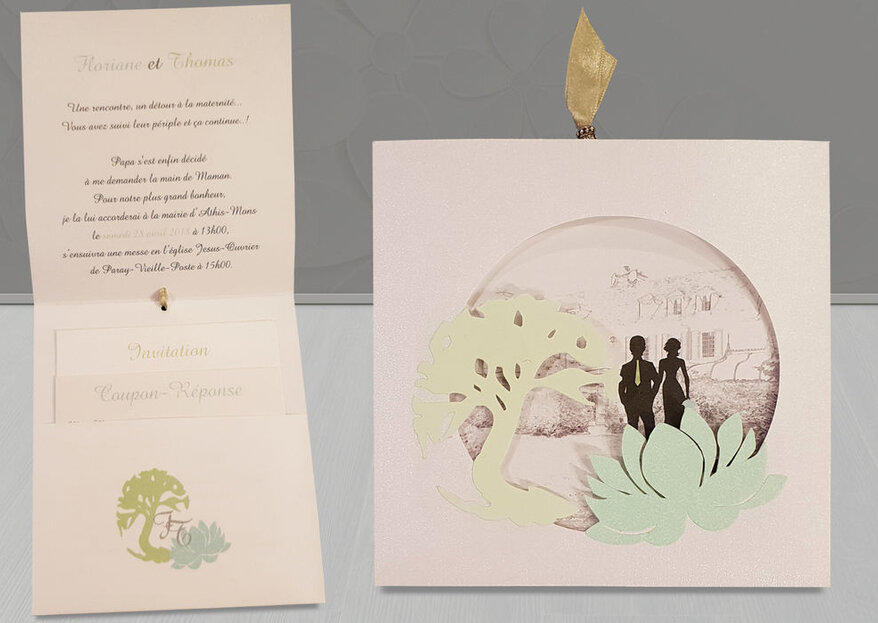 Donnez le ton de votre grand jour avec un faire-part de mariage sur mesure : Mots & Papiers