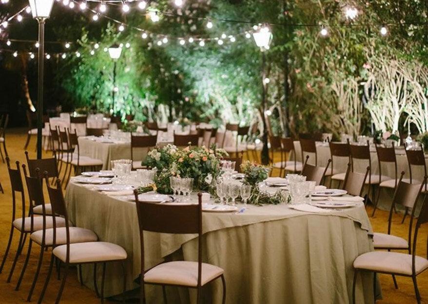 Cómo organizar el banquete de la boda en 5 pasos