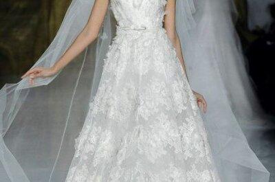 Vestidos de novia Elie Saab 2014 para las bodas en primavera