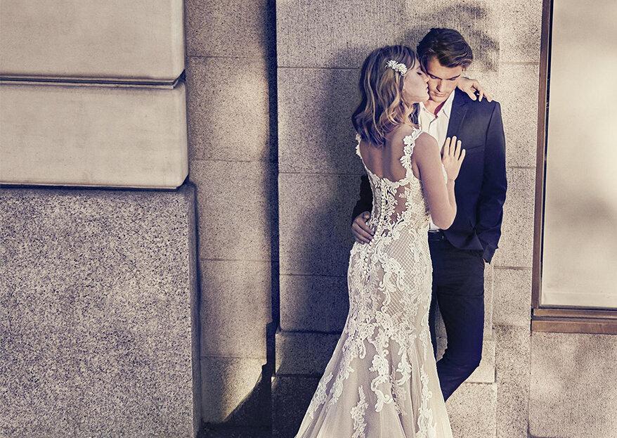 Vestidos de noiva marfim para iluminar os casamentos de 2019