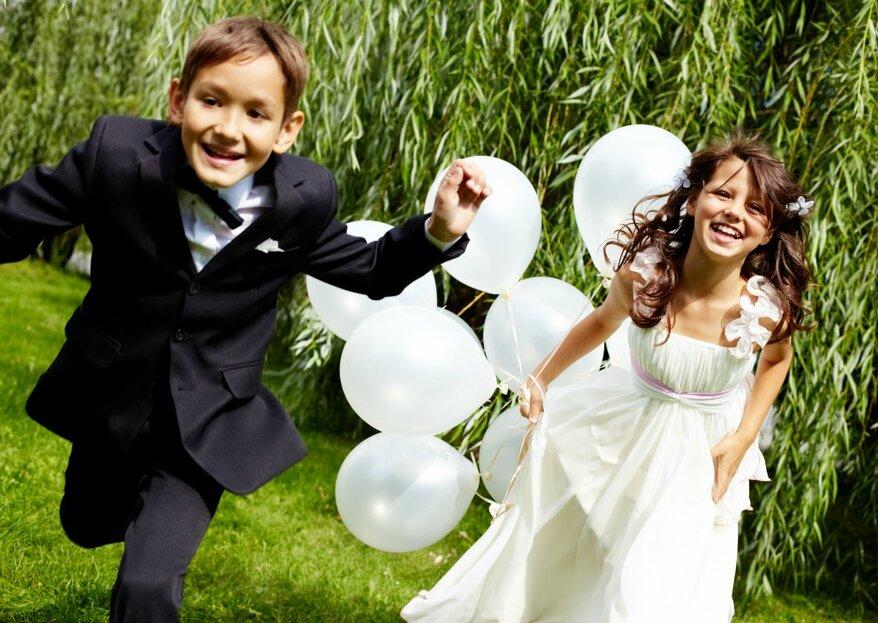 Guide für eine kinderfreundliche Hochzeit - So wird Ihre Feier auch für die kleinen Gäste unvergesslich!