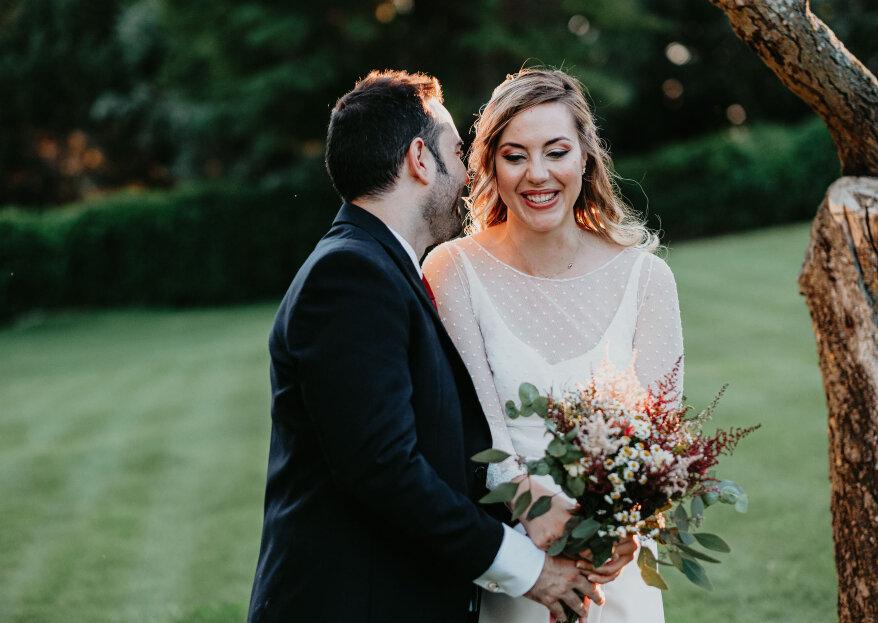 Sonrisas y lágrimas: la boda de Eva y Héctor