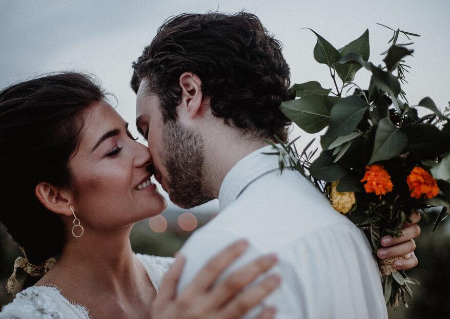 Fotografía de boda diferente para gente diferente