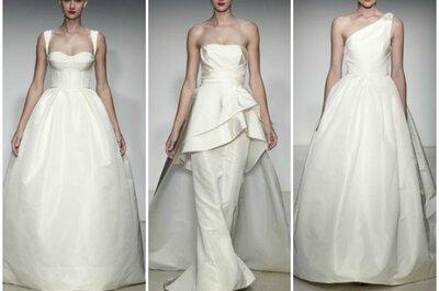 Amsale - Otoño 2013: diseños para novias minimalistas con estilo