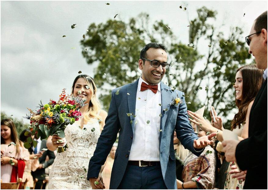 La boda de Sara y Aman: ¡una historia única en la que el amor unió dos culturas!