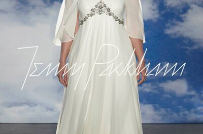 El vestido de novia perfecto para chicas de talla grande