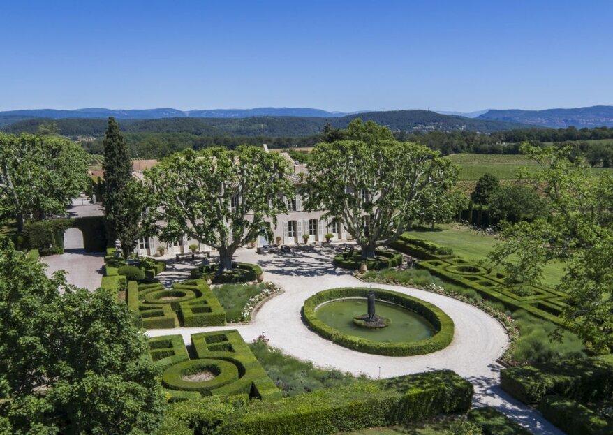 Château Sainte Roseline : un mariage au cœur des vignes de la Provence