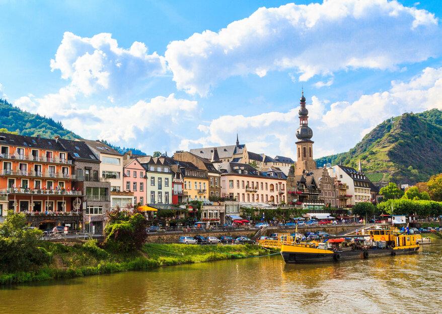 Heiraten in Rheinland-Pfalz: Burgen, Schlösser und Weinberge
