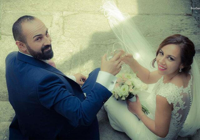 """Cómo han pasado los años..."": la boda de Noelia y Rubén"