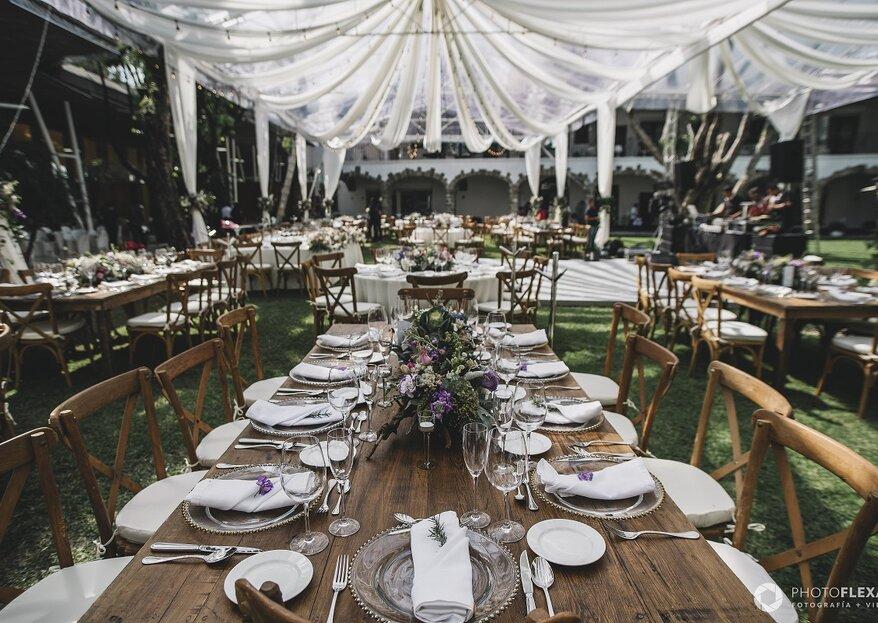 Lugares memorables para celebrar tu boda: ¿Cuál es tu favorito?