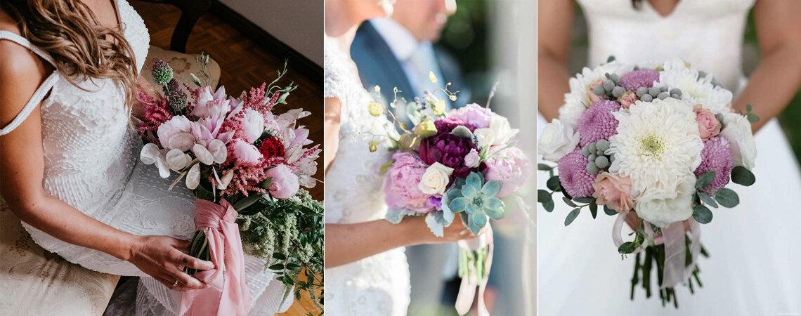 Os ramos de noiva mais TOP! A melhor seleção para o seu grande dia