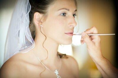 Perfektes Hochzeits-Make-up - 5 Fehler, die Sie unbedingt vermeiden sollten