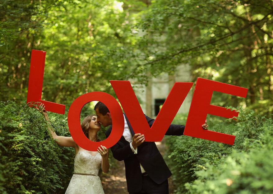 Letreros para boda: Ideas originales y divertidas