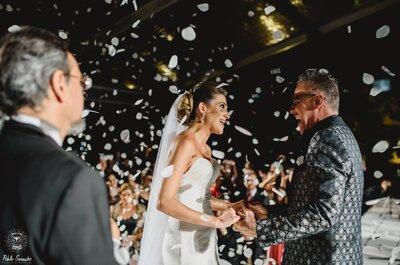 Dejemos que el amor hable: La boda de Zaira y Marco