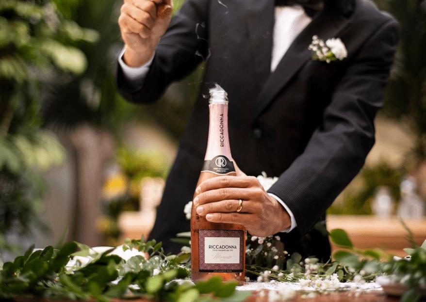Con Riccadonna: un licor para cada momento de la boda, ¿sabes cuál va mejor?