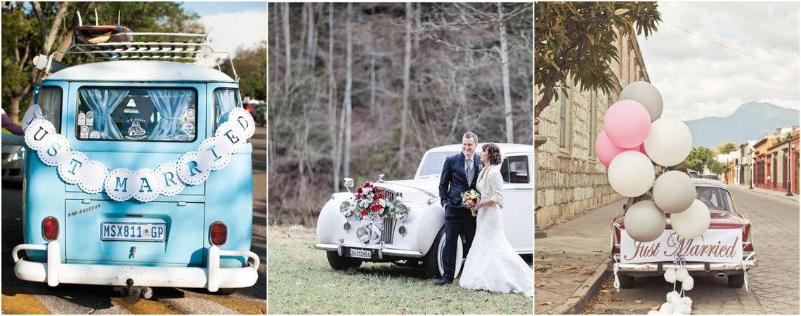 Tolle Deko-Ideen für das Hochzeitsauto: So wird Ihr Auto zu einem Hingucker!