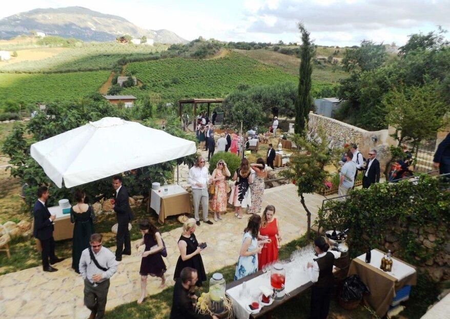 Un luogo senza tempo nella campagna della Sicilia dove celebrare il vostro amore: Baglio Aversa
