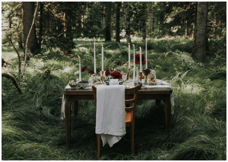 Wie entsteht eine persönliche und individuelle Dekoration für eine Hochzeit?