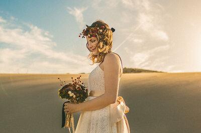 Cómo tener un look de novia perfecta. ¡Luce espectacular!