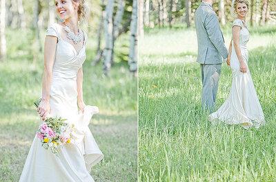 Detalles en colores pastel para tu boda
