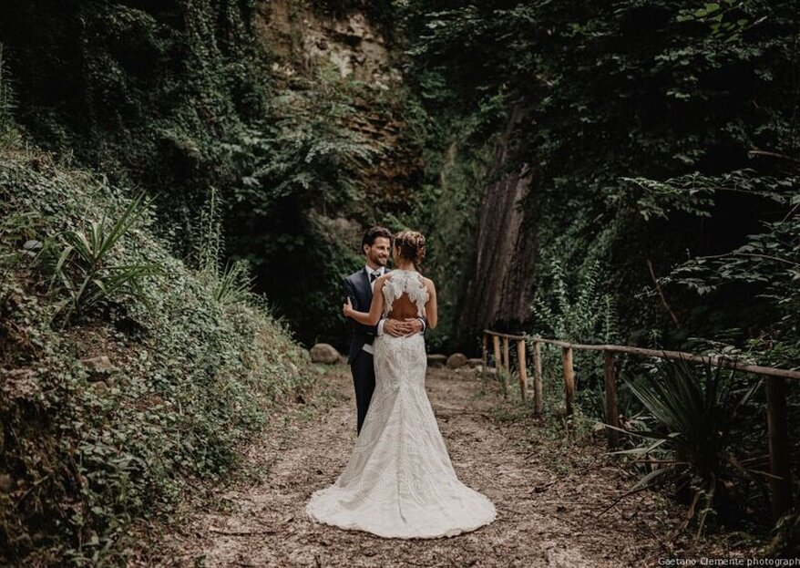 Tenuta dei Normanni: for a romantic wedding to be celebrated in an ancient amphitheater