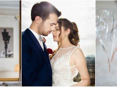Un mariage dans un palace parisien ? L'inspiration chic et romantique !