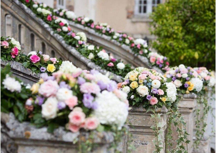 Comment bien choisir les fleurs de son mariage en 5 étapes