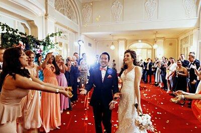 У любви нет границ: яркая свадьба Кристины и Джона в Санкт-Петербурге